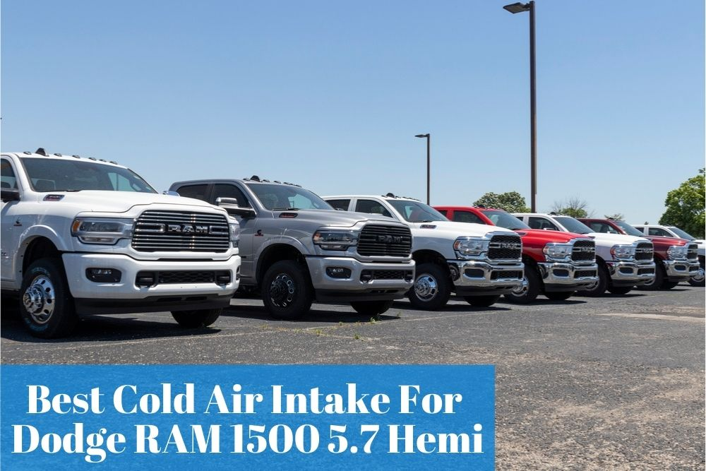 Buying the most popular and trusted cold air intake kit for your RAM 1500