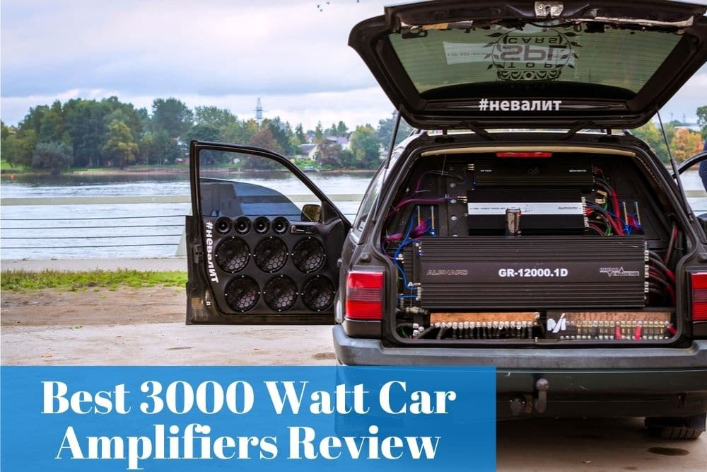 Having the quality car audio sounds by using a 3000-watt amp