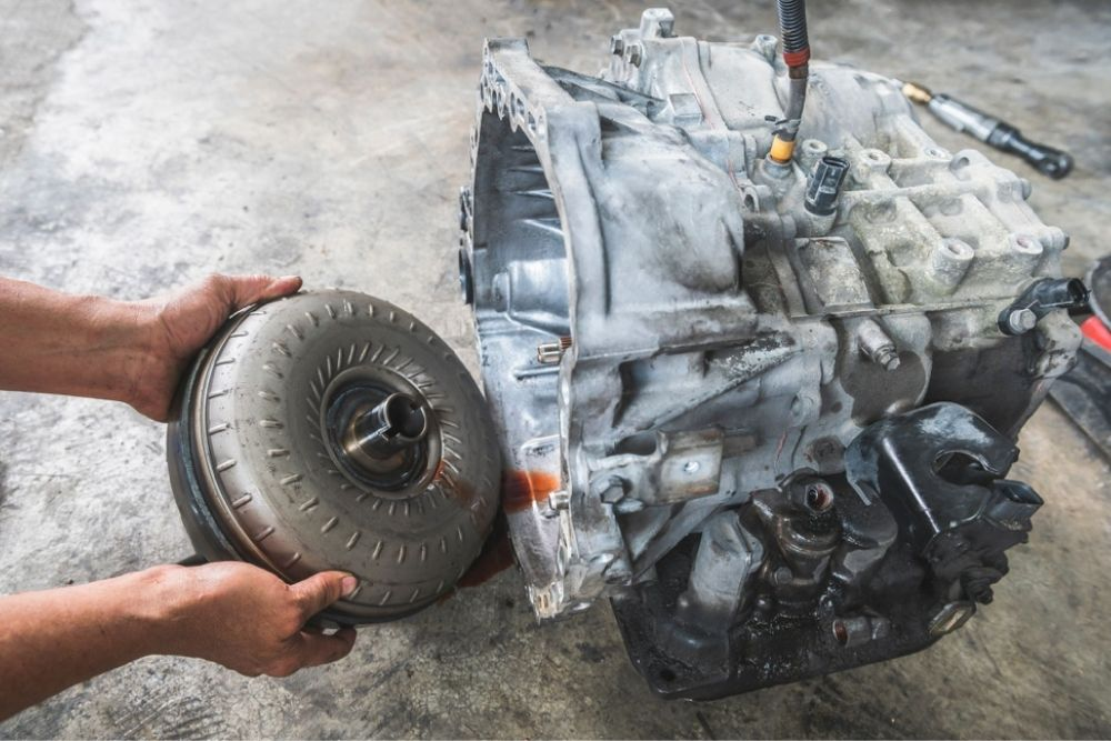 Paying a good amount of money to replace a new transmission
