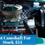 What are the specs of the Stock 454 camshaft and which one is the most used for Chevy vehicles